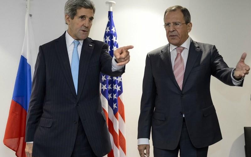 Лавров и Керри встретились в третий раз в штаб-квартире ООН