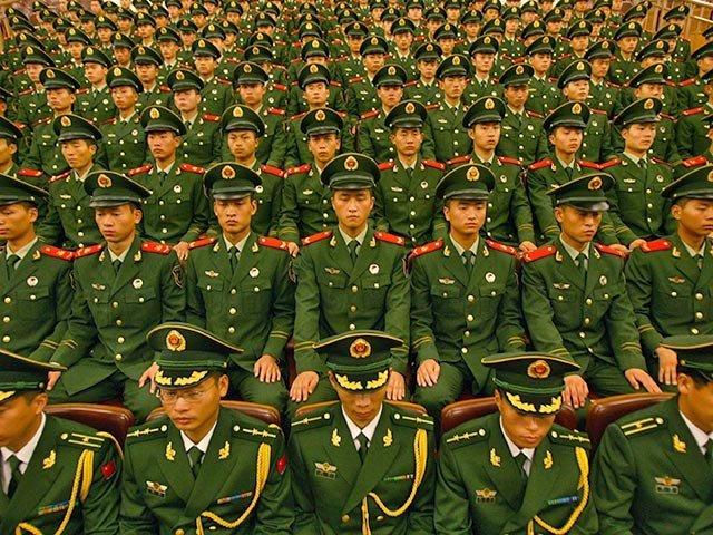 Китай сократит численность армии на 300 тысяч человек