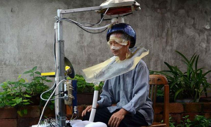 В Китае изобрели устройство для мытья и сушки волос за 5 минут