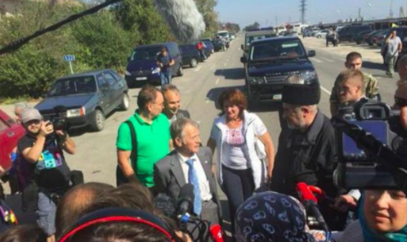 Продовольственная блокада Крыма началась