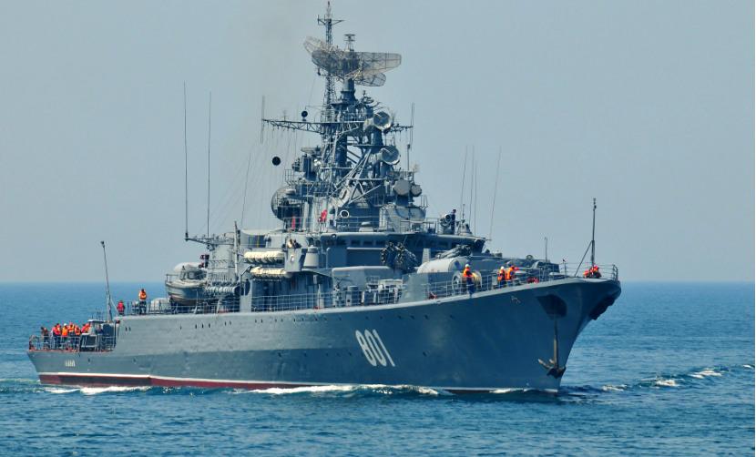 Российские корабли подняли в небо морскую авиацию Украины