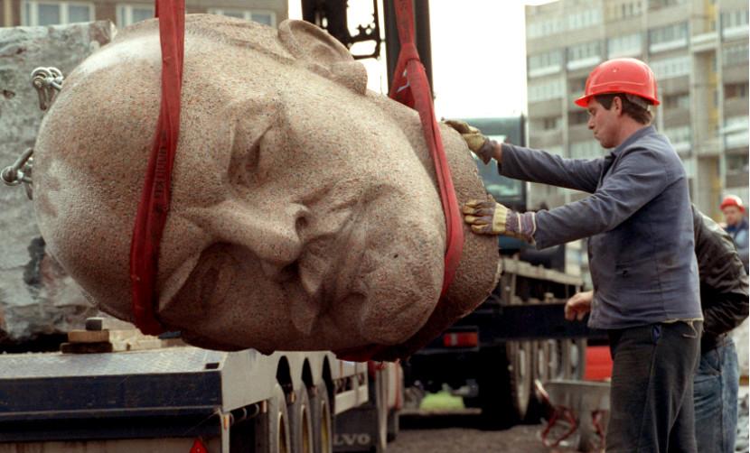 Знаменитую голову Ленина откопали под Берлином