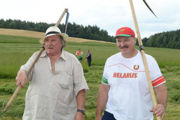 Александр Лукашенко выделил $2 млн на фильм с Депардье «Нормандия - Неман»