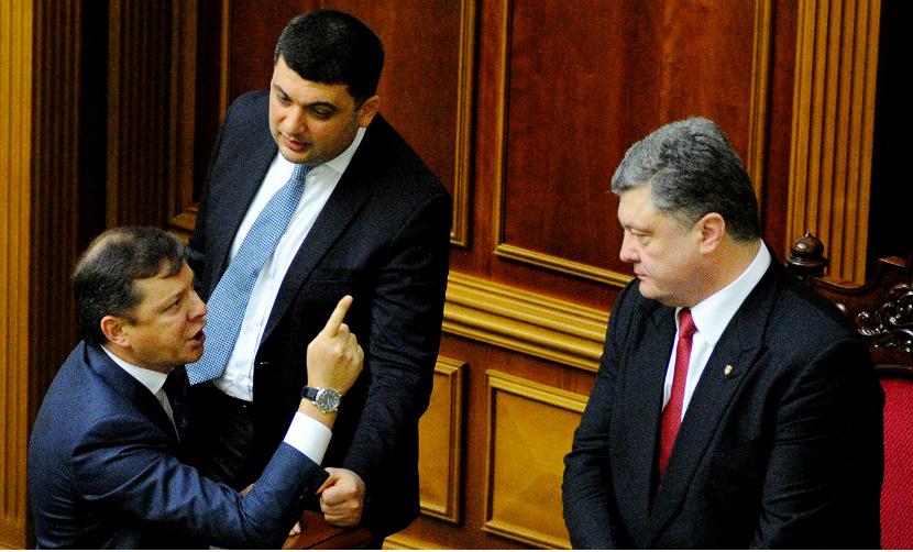 Ляшко в ответ на обвинения Порошенко вызвал его на «теледуэль»