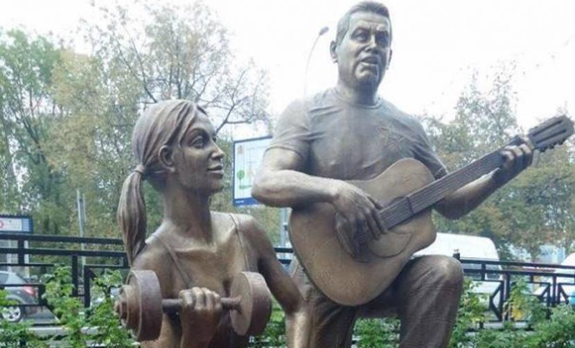Памятник Расторгуеву и Дусе-агрегат открыли в Подмосковье