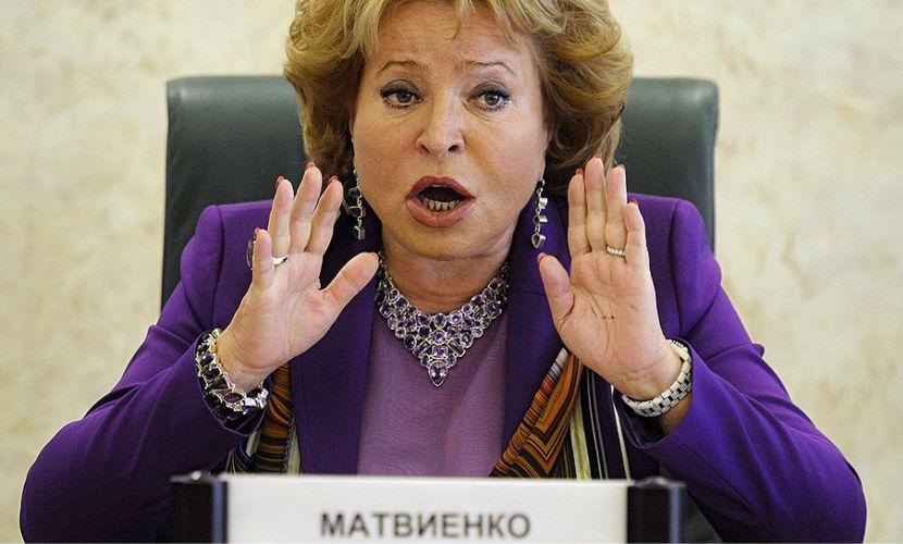 Матвиенко в шоке из-за ареста Гайзера