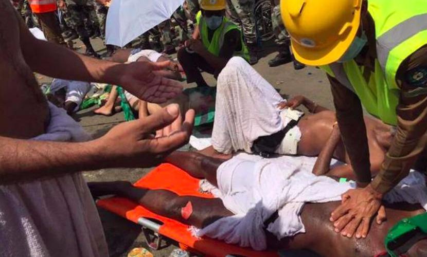 В Саудовской Аравии в результате давки погибли более сотни человек
