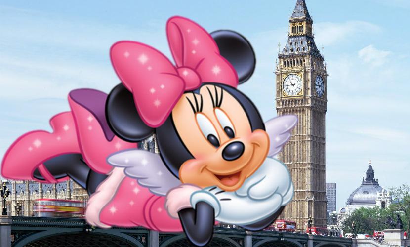 Минни Маус стала музой Недели моды в Лондоне