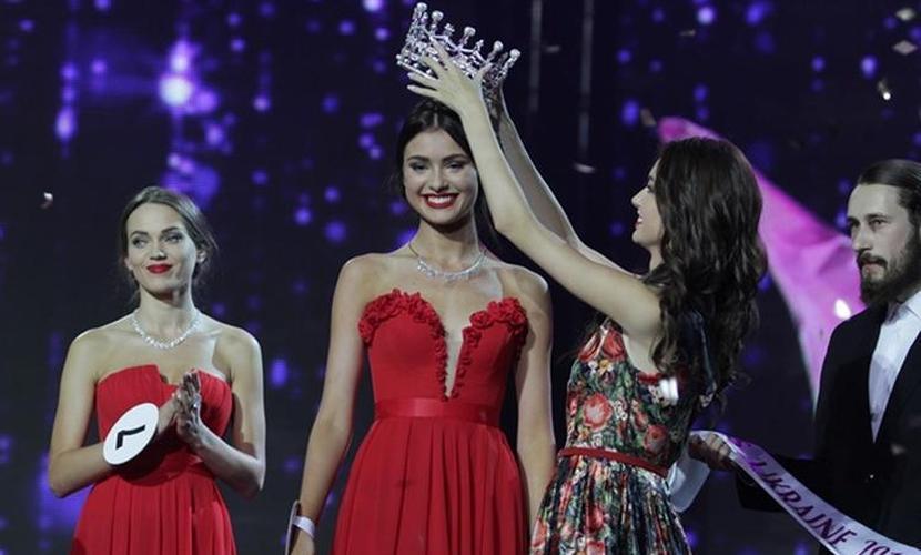 Эффектная брюнетка из Киева выиграла конкурс «Мисс Украина-2015»