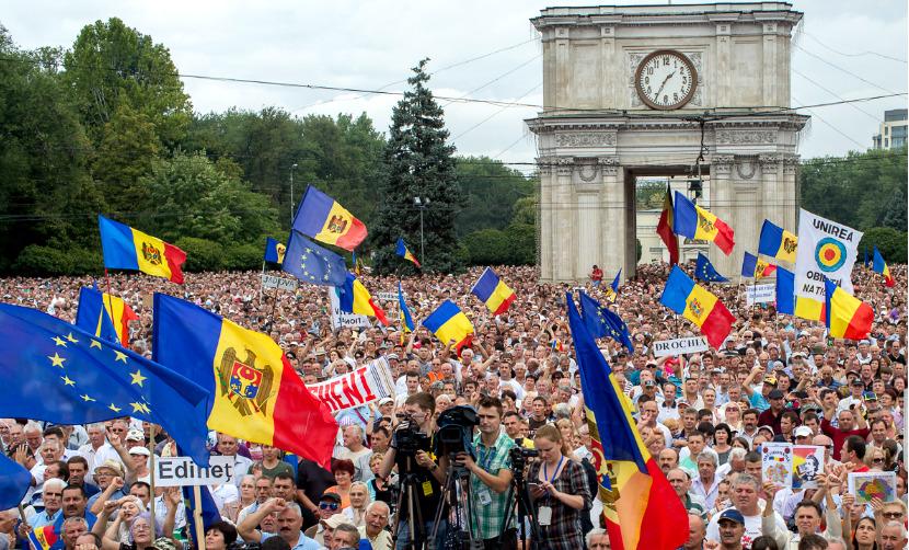 США решили поддержать протест жителей Молдавии