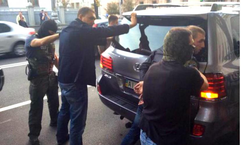 Сотрудники СБУ вывезли Мосийчука из здания Рады