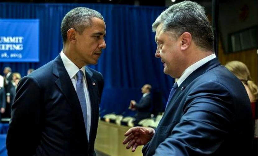 Порошенко не понял намека Обамы и предал Украину