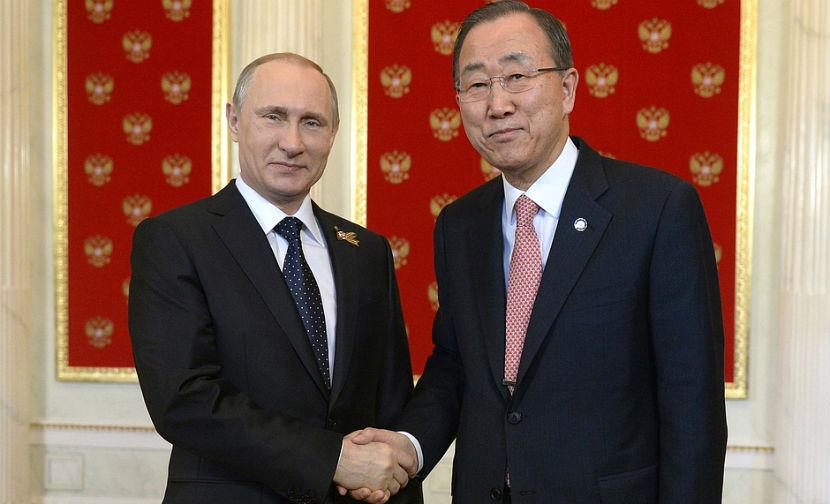 Пан Ги Мун: Россию никто не собирается исключать из СБ ООН