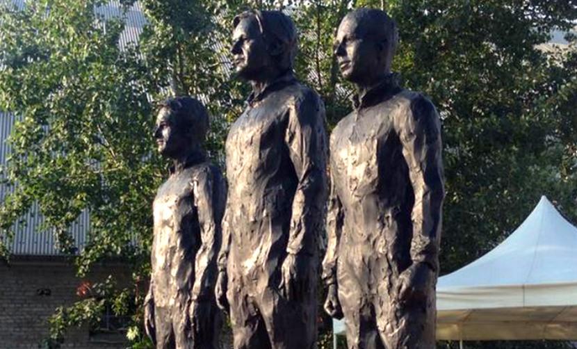 Памятник разоблачителям Сноудену, Ассанжу и Мэннинг открыли у штаб-квартиры ООН
