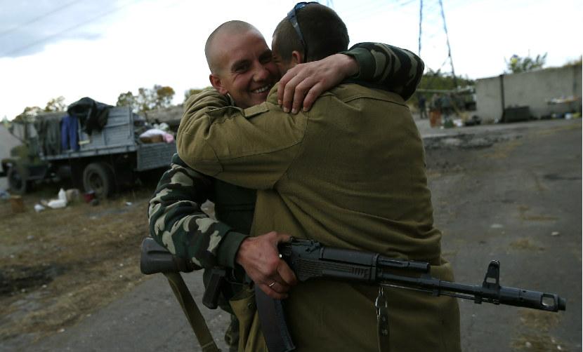 Четверых пленных бойцов ДНР обменяли на двоих пленных украинских солдат
