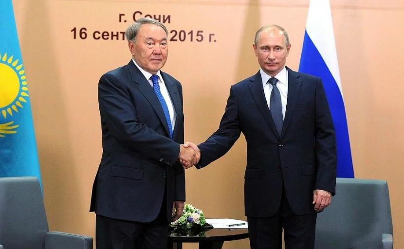 Путин позвал жителей Казахстана в Сочи