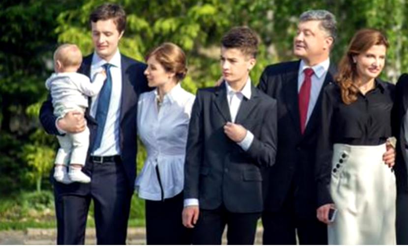 Порошенко впервые показал своего единственного внука