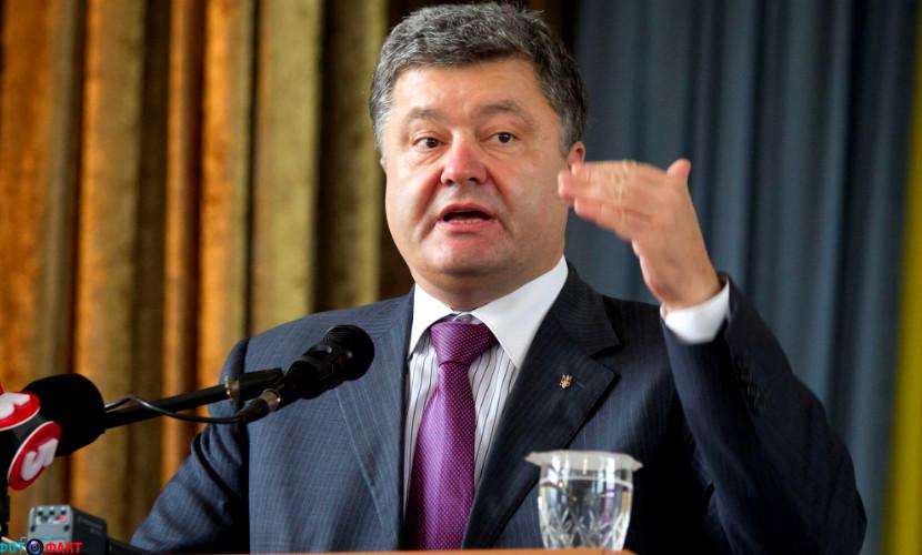 Порошенко: «Я не говорил о спецоперации в Донбассе, извините, меня не так перевели»