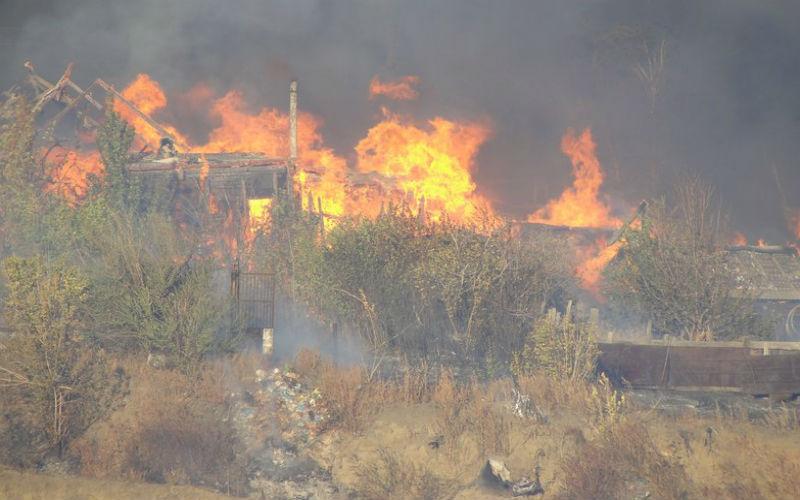 Мать с 9-летней дочкой сгорели во время пожара в Сызрани