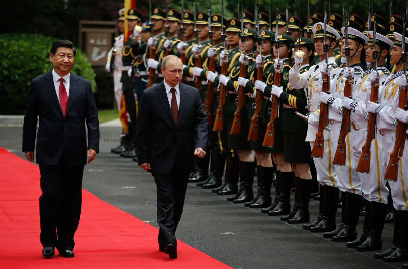 Соглашения России и Китая раскололи мир