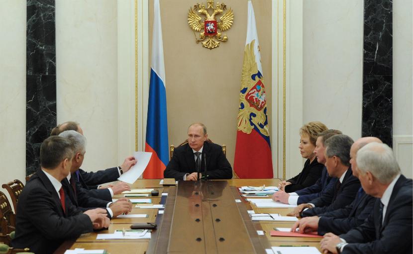 Путин обсудил