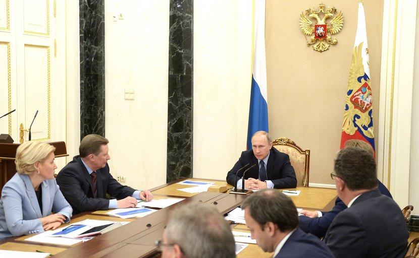 Путин поручил правительству доработать бюджет на 2016 год
