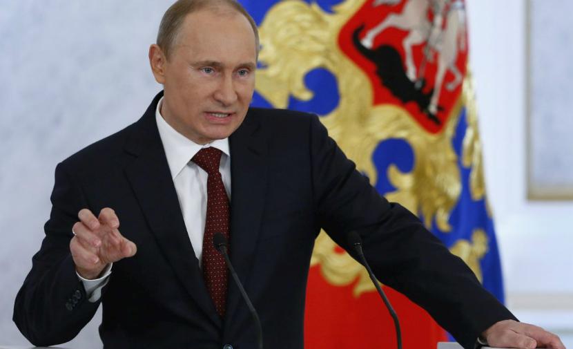 Путин возмутился санкциями Порошенко против журналистов