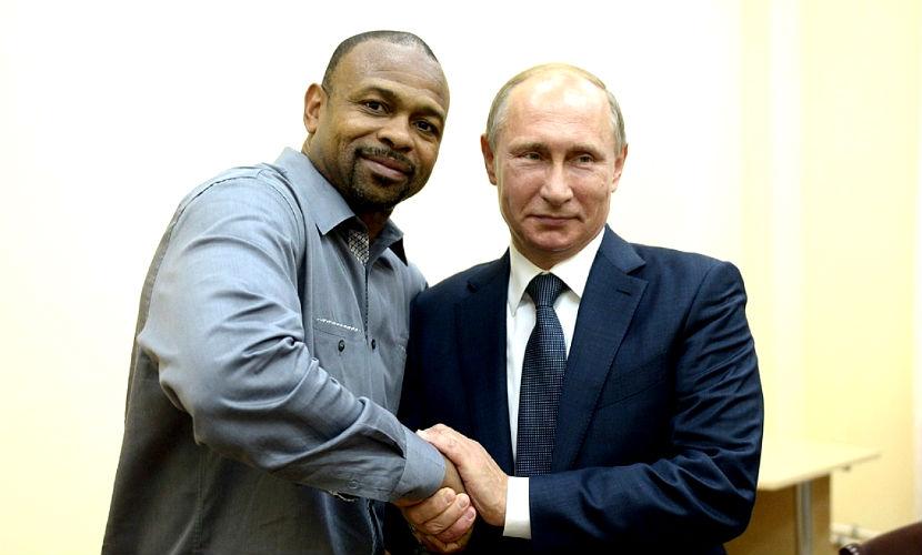 В России меня ценят больше, чем в США, - Рой Джонс