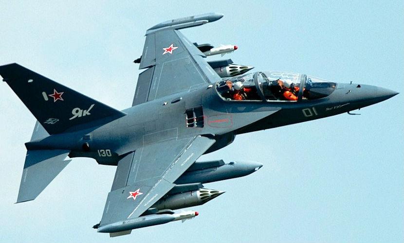 Российские истребители замечены в небе над Сирией
