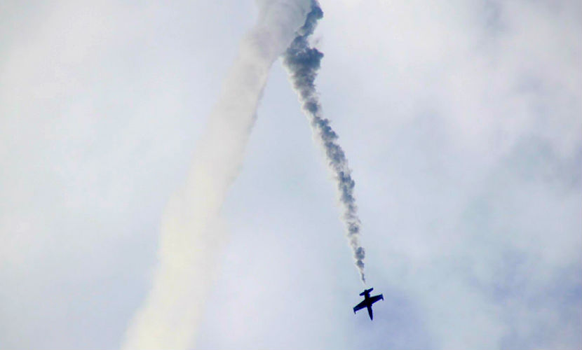 Самолет разбился в ходе масштабного авиашоу в США