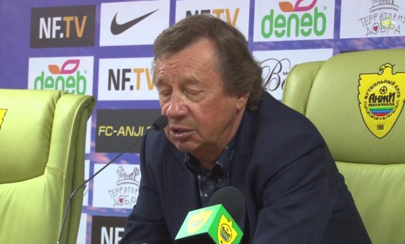 Юрий Семин уволен с поста главного тренера футбольного клуба