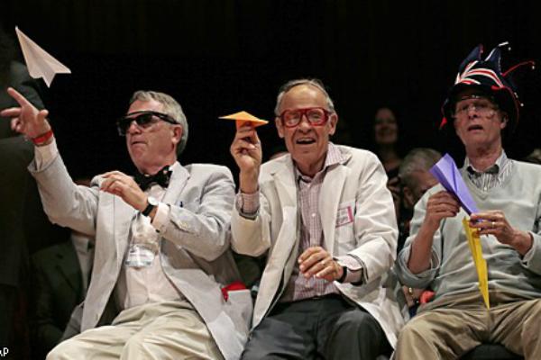 Шнобелевские премии за абсурдные научные открытия вручили в Гарварде