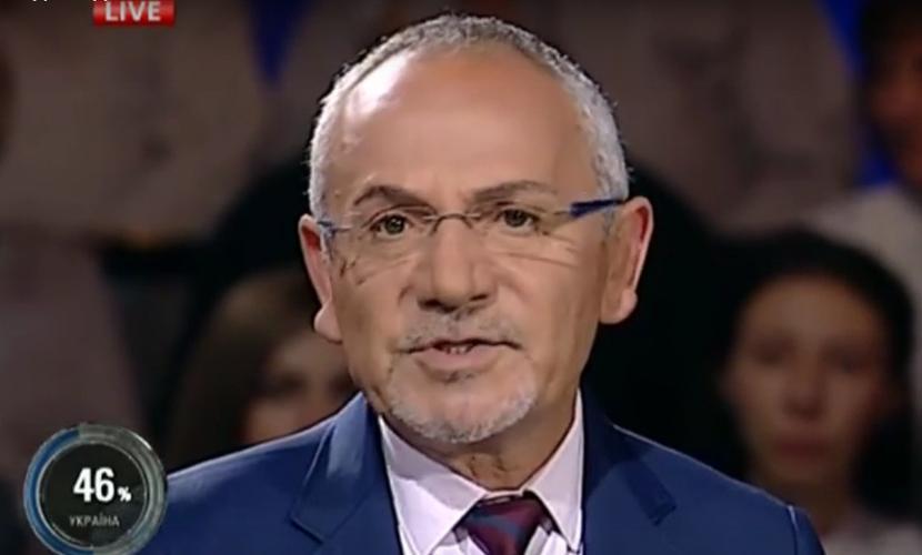 Савик Шустер в прямом эфире отказался быть рабом гендиректора украинского телеканала
