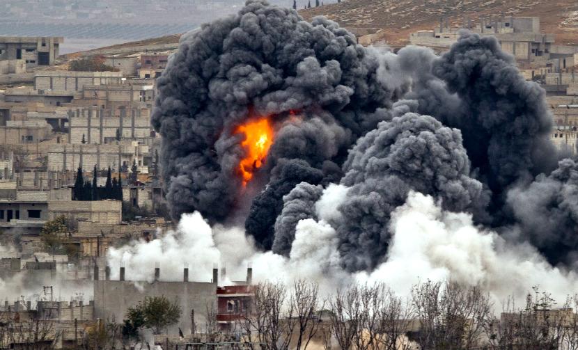 Возглавляемая США коалиция нанесла авиаудары по Сирии и Ираку