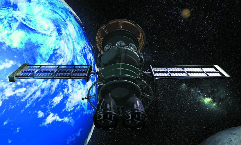 Советский космический аппарат сгорел над Тихим океаном