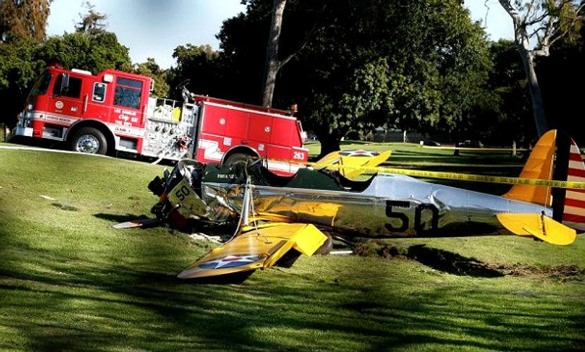 В США погибли три человека из-за крушения самолета