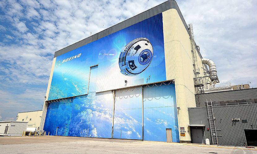 Новый космический корабль Starliner от Boeing начинают собирать во Флориде