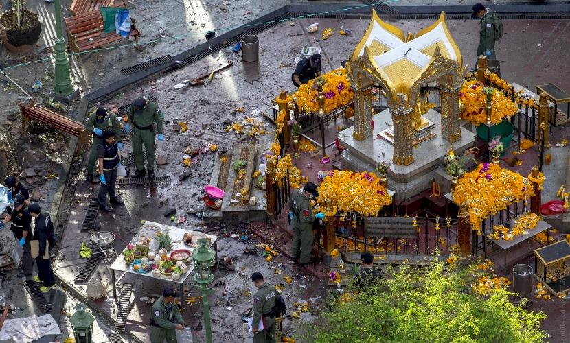 Есть погибшие в результате четырех взрывов на юге Таиланда