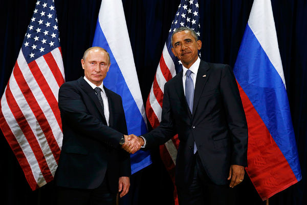 Путин и Обама разговаривали наедине более полутора часов