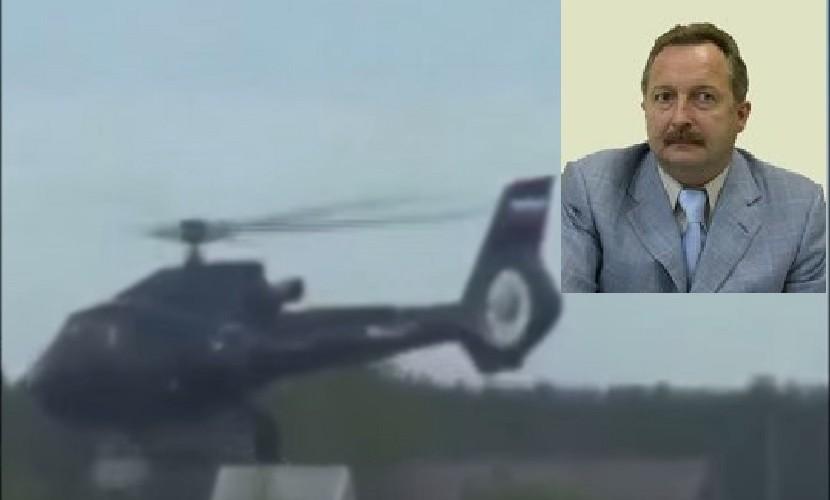 Воронежский чиновник летает в загородный особняк на медицинском вертолете