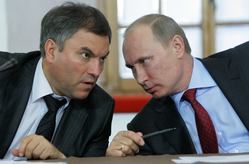 За наследие Крыма возьмется Вячеслав Володин