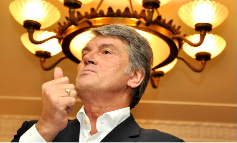 Руководство НАТО отшило Украину с «кипучим» Саакашвили, - Ющенко