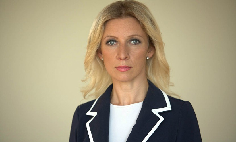 Захарова заявила об антироссийской информационной войне по Сирии