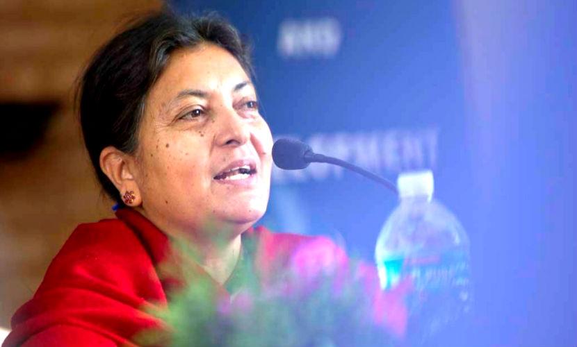 Впервые в истории президентом Непала стала женщина
