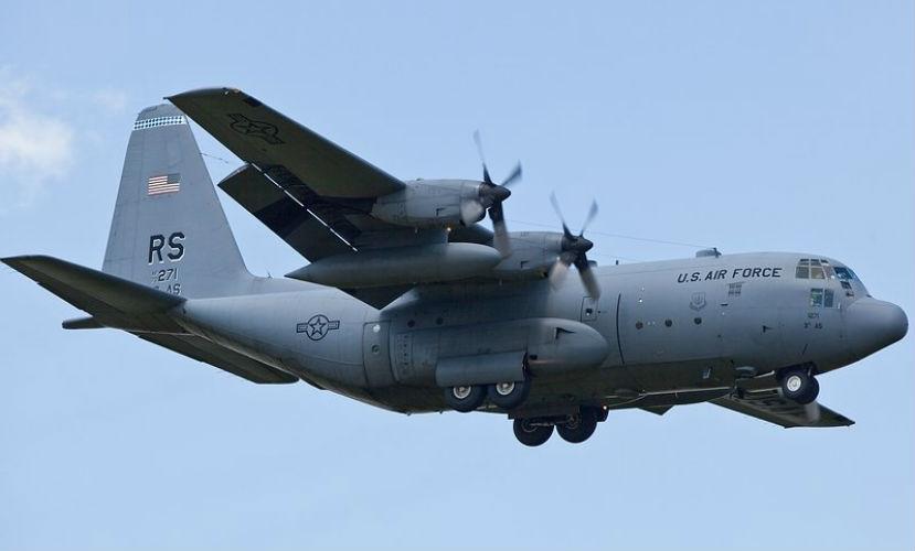 Военный самолет США C-130 разбился в Афганистане, - СМИ
