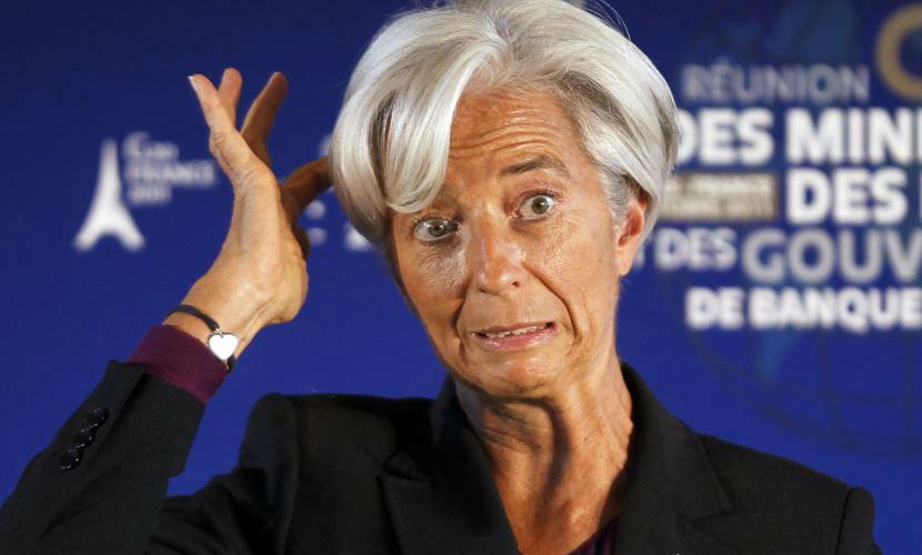 Глава МВФ назвала две главные опасности 2016 года