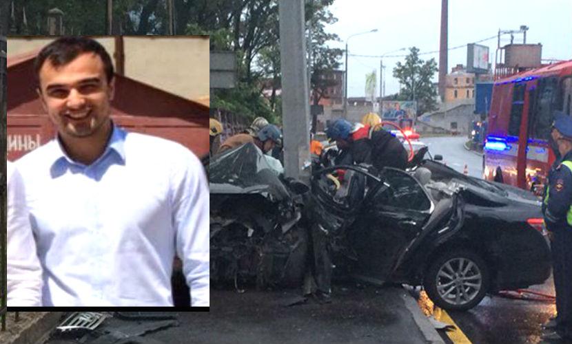 Помощник прокурора транспортной прокуратуры Махачкалы погиб, врезавшись в столб