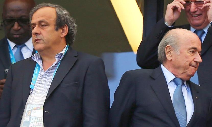 Блаттера, Вальке и Платини отстранили на три месяца от футбола