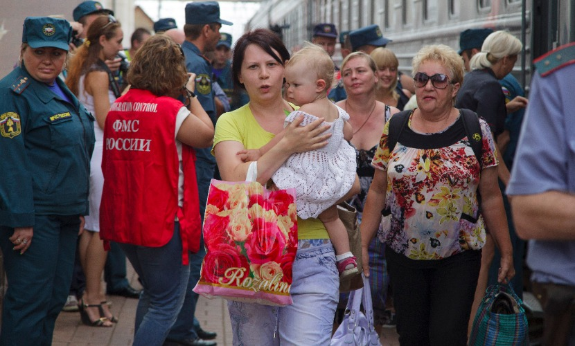 На территории России сейчас более 1 миллиона граждан с юго-востока Украины, - ФМС