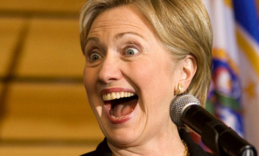 Хиллари Клинтон призналась, что она не человек